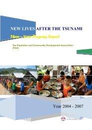 Three Years Report