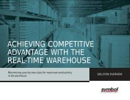 achieving competitive advantage with the real-time ... - Barcom Inc.