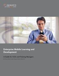 Enterprise Mobile Learning and Development - TrainingIndustry.com