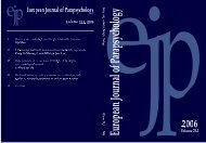 Volume 21.1, 2006 - European Journal of Parapsychology