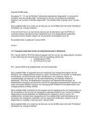 Geachte NVMM leden, Op pagina 13: 1.6. van de Richtlijn ...