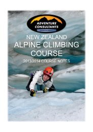 The Alpine Climbing Course has been created to cater for fit and ...