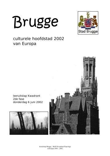 culturele hoofdstad 2002 van Europa - DPB Brugge
