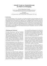 Überschrift in Arial 14, Fett, mittig - OCP-IP
