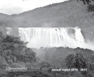 annual report 2010 - 2011 - Jananeethi