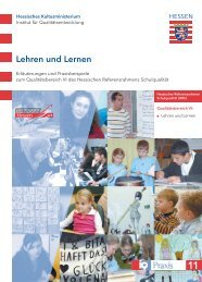 Lehren und Lernen - kou-hessen - Kompetenzorientiert unterrichten ...