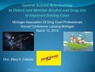 Download - Michigan Association of Drug Court Professionals