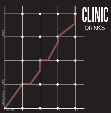 Open Clinic Drinks Menu - GuestlistSPOT.com