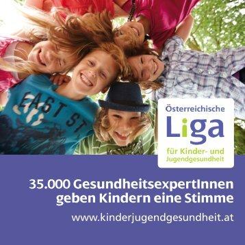 Folder Liga 2012 - Österreichische LIGA für Kinder-und ...