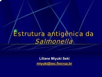 Estrutura antigênica da Salmonella