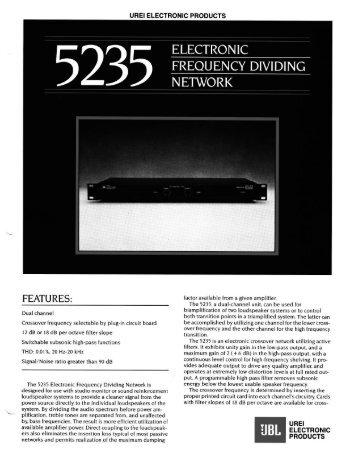 5235 - JBL Professional