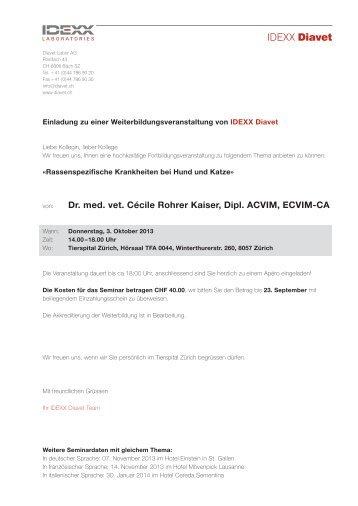 Einladung Seminar_031013.indd - Vet-congress