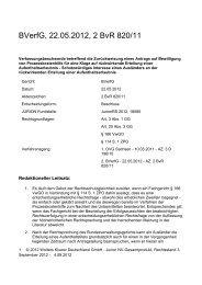 Beschluss vom 22.05.2012 – 2 BvR 820/1 - Wolters Kluwer ...