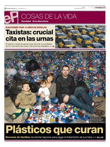 Tapones de plástico para curar a niños - Enrique Dans