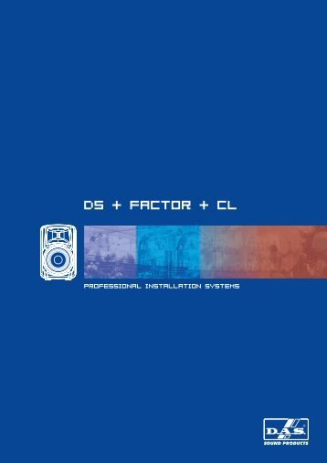 ds + Factor + cl - dasaudio.de
