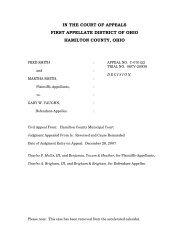 Smith v. Vaughn - Hamilton County, Ohio
