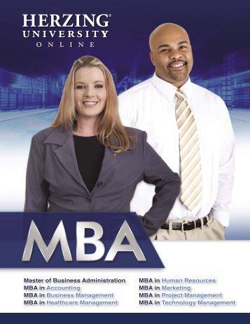 MBA - Herzing University