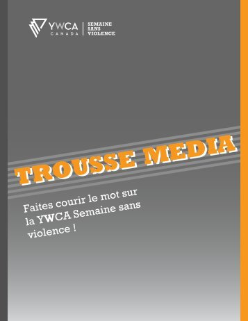 TROUSSE MEDIA - YWCA Canada