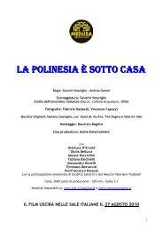 pressbook LA POLINESIA E' SOTTO CASA - Studio Morabito