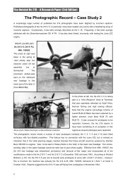 The Photographic Record – Case Study 2 - wing leader