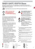 BABY-SAFE ISOFIX Base - Britax - Page 2