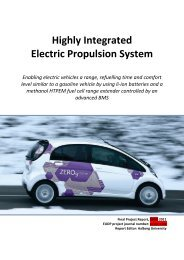 Highly Integrated Electric Propulsion System - cemtec.dk
