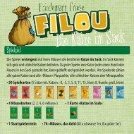 Die deutsche Spielregel für Filou - 2F-Spiele