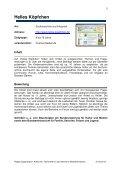Internetseiten für Kinder (zusammengestellt vom ... - Page 5