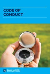 code of conduct - Black & Veatch
