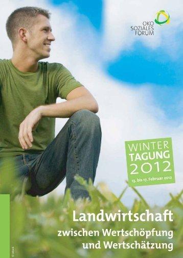 23.-26.02.2012 - Ökosoziales Forum