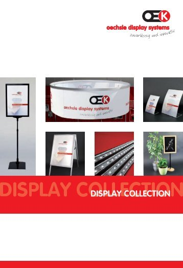 OEK Display Collection - Oechsle Display Systeme GmbH