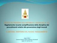 Sistema tariffario attuale - Ordine degli Ingegneri della provincia di ...
