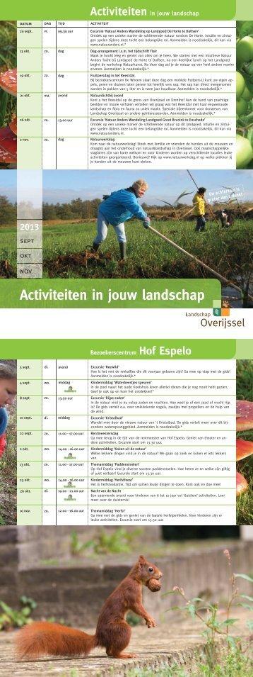 Hang 'm op het prikbord - Landschap Overijssel