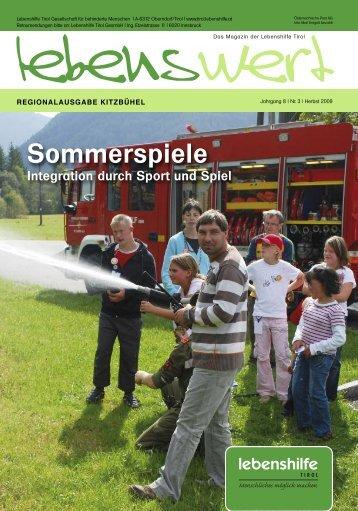 Jahrgang 8 /Nr. 3/Herbst 2009 - Gemeinde Oberndorf in Tirol