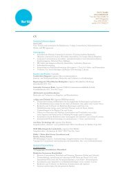 CV und Projekte - utelatzke.de