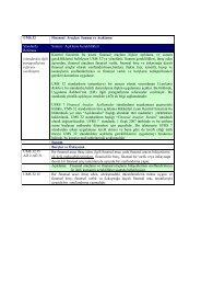Finansal Araçlar: Sunum ve Kamuoyuna Açıklama - Denetimnet.Net