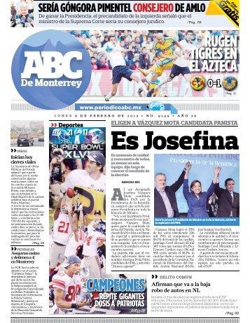 Es Josefina - Periodicoabc.mx