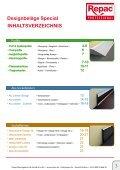 Designbeläge Special Mehr Profil am Boden Katalog - Repac - Page 3