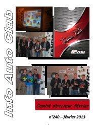 Compte-rendu CD Fevrier 2013 - FVRC