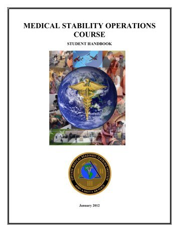 WELCOME AND COURSE OVERVIEW - DMRTI - Defense Medical ...
