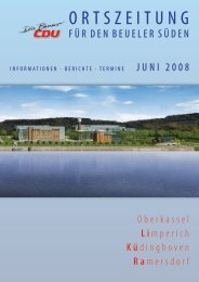 Zeitung als pdf-Datei - CDU-Kreisverband Bonn