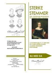 STERKE STEMMER - Bygdekvinnelaget