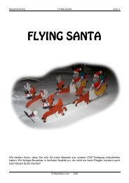 Bauanleitung - FLYING SANTA - Modellbau Lenz