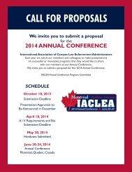 Proposal Brochure - IACLEA