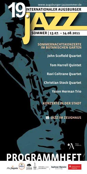 hohes friedensfest - Internationaler Augsburger Jazzsommer