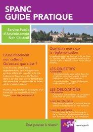 spanc guide pratique - Ville d'Agen