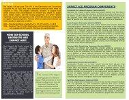 Impact Aid Program Brochure - Military K-12 Partners