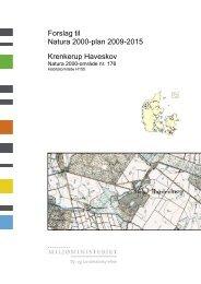Forslag til Natura 2000-plan - Naturstyrelsen