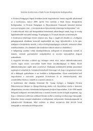 Szakmai konferencia a Deák Ferenc Középiskolai Kollégiumban A ...