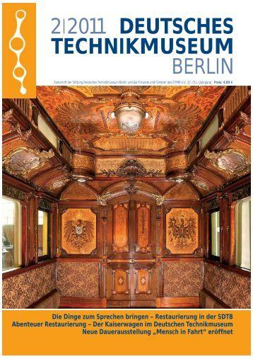 Leseprobe 2|2011 (PDF) - Deutsches Technikmuseum Berlin